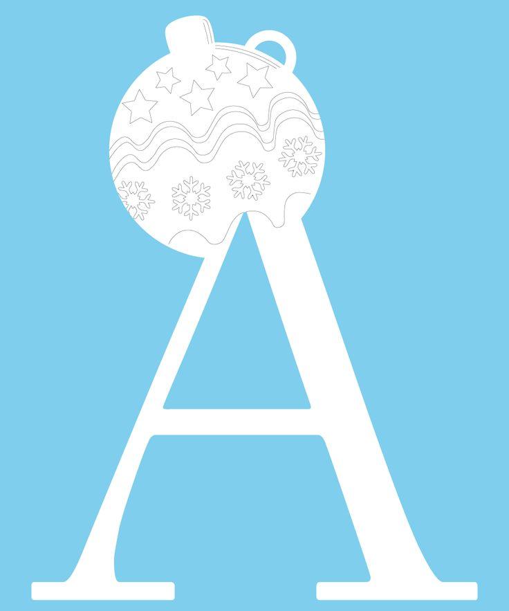 Tutto l'alfabeto è disponibile, scegli la tua Lettera di Natale per un regalo unico. Sono realizzate in cartone resistente e rivestite di pellicola adesiva pvc. Ogni lettera riproduce uno dei 6 decori in: stella, renna, Babbo Natale, angioletto, palla di Natale.