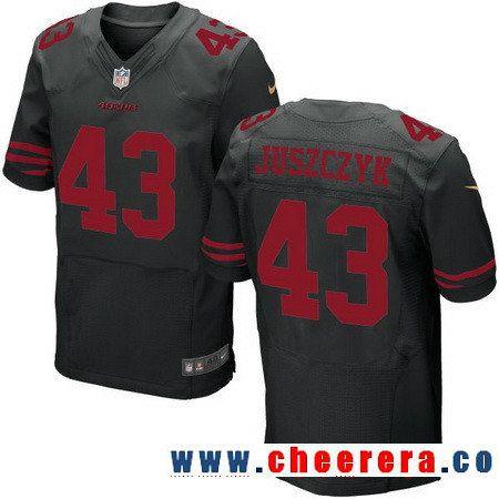 Womens Nike San Francisco 49ers 2 Blaine Gabbert Limited Black 2016 Salute  to Mens San Francisco 49ers 43 Kyle Juszczyk Black Alternate Stitched NFL  Nike ... 2bc1e0a87