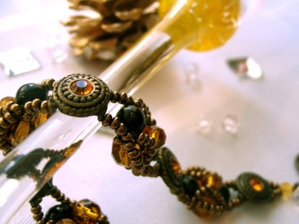 My beadwork - bracelet