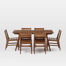 Patio Dining Sets, Outdoor Dining Sets & Furniture   west elm   west elm