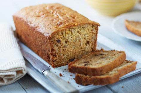 Egg-free dried cherry and sunflower tea bread #recipe