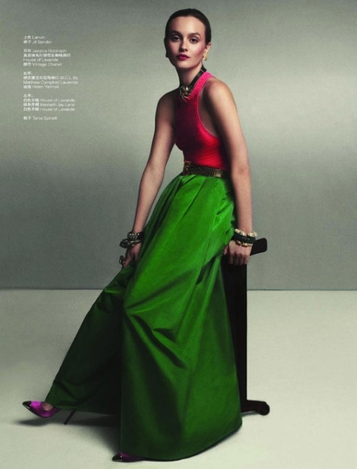 5 trends for spring/summer 2012, including color-blocking: Lofficiel China, Style Inspiration, Gowns, Jewels Tones, Lofficiel Magazines, Fashion Trends, Fashion Photography, Leighton Meester, Gossip Girls