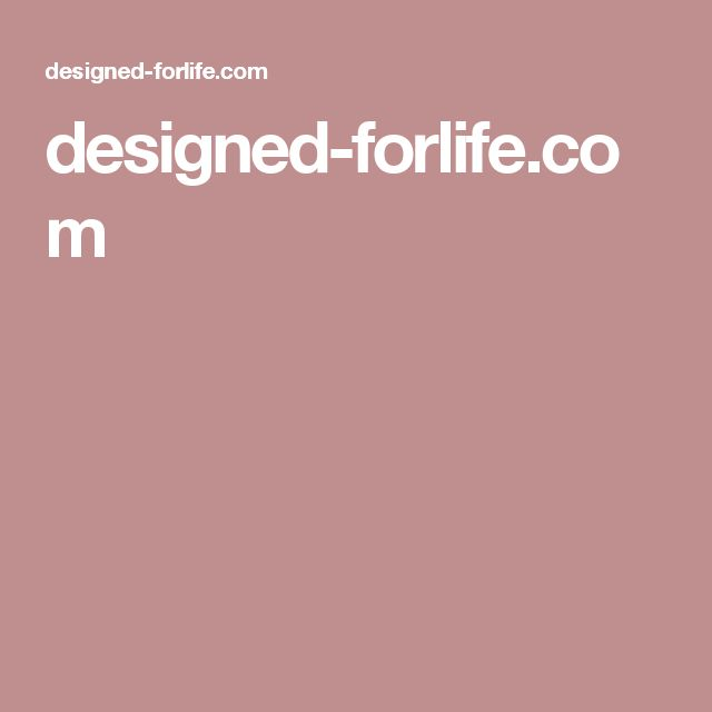 designed-forlife.com