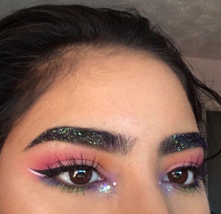 25+ best Glitter eyebrows ideas on Pinterest | Alien makeup ...