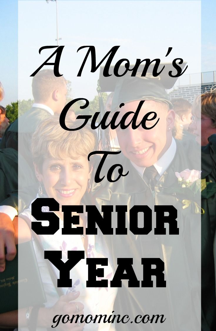 If you are the Mom of a high school senior, the back to school fall of their se…