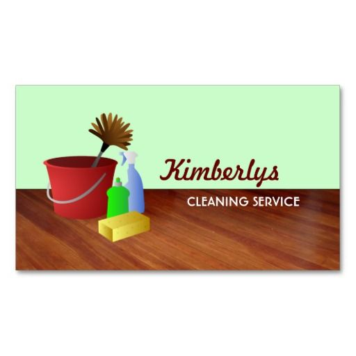 200 best Maid Services Business Cards images on Pinterest