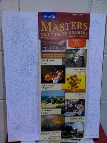 Masters Painting-By-Numbers Set of 16 - Van Gogh, Da Vinci, Muller, and More Sax Arts and Crafts http://www.amazon.com/dp/B0044SBH3I/ref=cm_sw_r_pi_dp_tyxUtb00TZ3NJRZD
