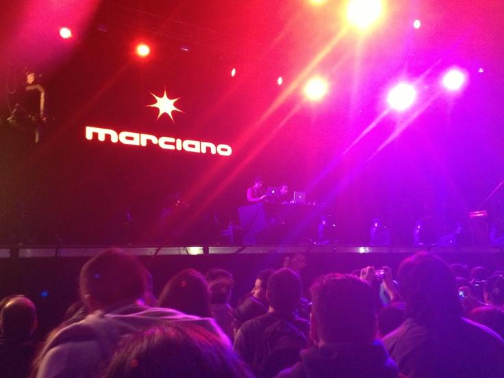 Marciano en Creamfields 2012