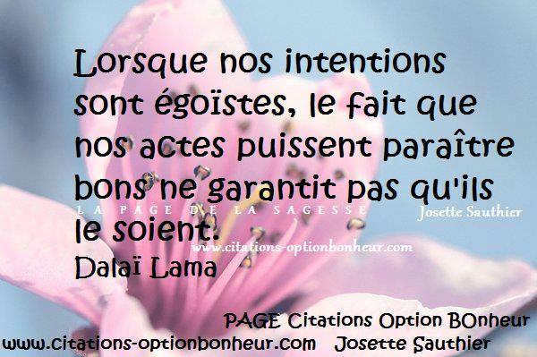 Citations et Panneaux Facebook à partager: Citation sur l'égoïsme. Dalaï Lama