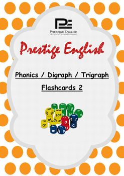 Phonics / Digraph / Trigraph Flashcards 2 ( Jolly Phonics / Letterland ) FREEThis flashcard pack contains 18 digraphs & trigraphs with pictures to assist young learners to remember and retain the sounds and vocabulary for reading/blending practise.Can be used as lesson flashcards or classroom decoration.Sound Content:er/ir/ur, oi/oy, ou/ow, or/al/au/aw, ey, y, Silent h, Silent c, are, ear, tion, sion, ei/eigh, o, ture, le, ore, le Phonics Exercise Book:These flashcards are to be used in c...
