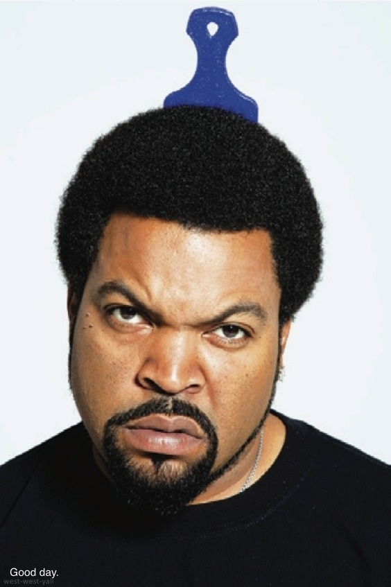 Google me, bitch. Ice Cube!
