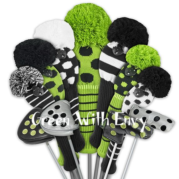 Just 4 Golf Knit Headcovers | Buy Stylish Knit Club Covers
