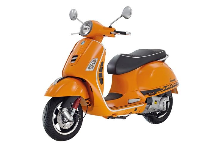 Vespa 300 Super Sport  Arancio-Competizione