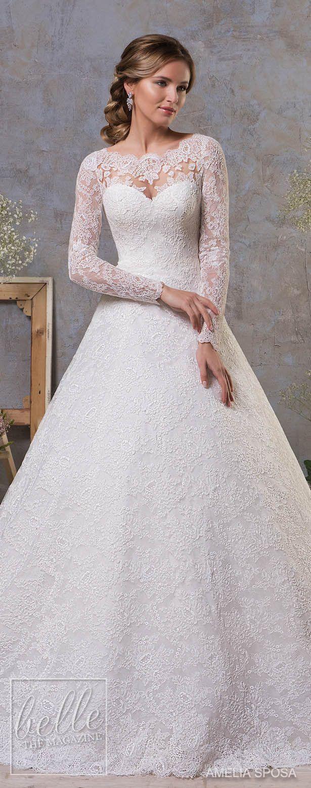 Amelia Sposa Fall 2018 Wedding Dresses 7