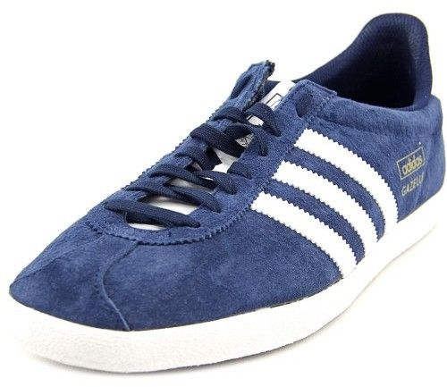 adidas Gazelle Men US 11.5 Blue Sneakers