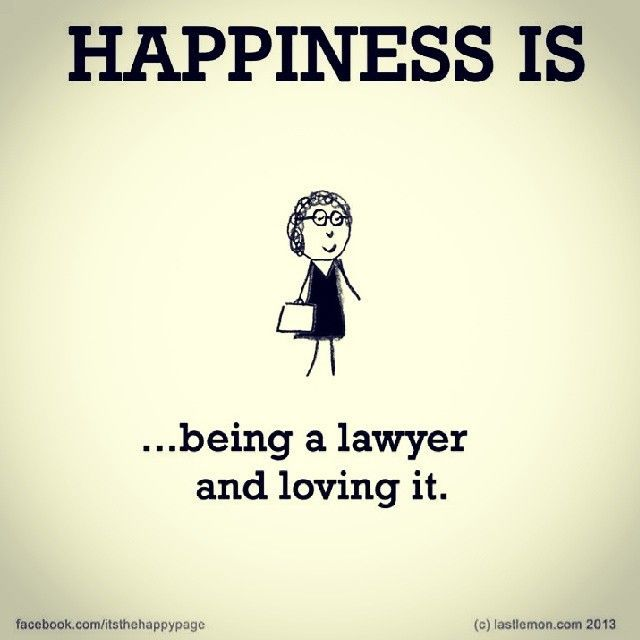 Being a lawyer and loving it!