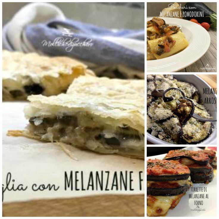 Raccolta di ricette con melanzane - 15 ricette facili