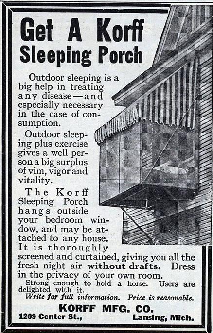 Korff Sleeping Porch.