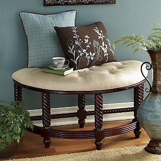 300 best images about chairs slipcovers on pinterest for Furniture for curved wall in foyer