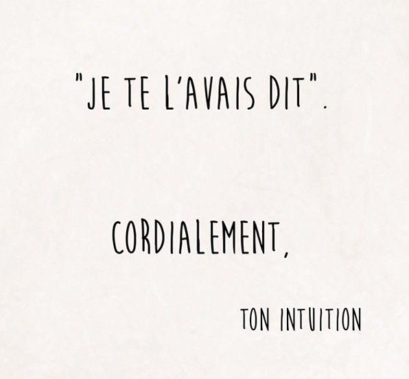 """LINE BOTWIN """"le poids des mots"""" #citation #intuition"""