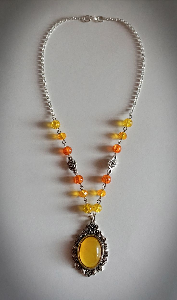 """Bursting Suns"" Necklace"