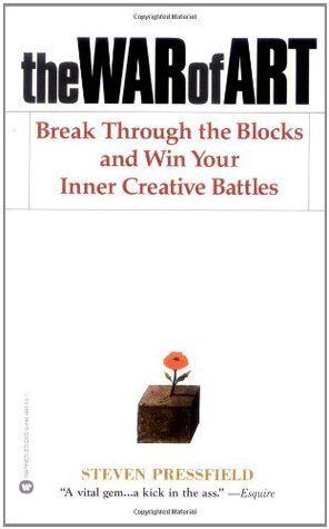 'The War of Art' de Steven Pressfield #livros #criatividade #leiturascriativas