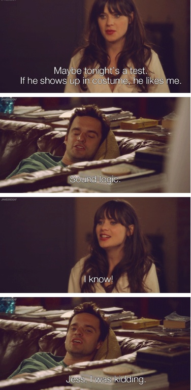 Nick & Jess- NEW GIRL {i don't know what i'd do without this show. makes me lol on the worst day.}