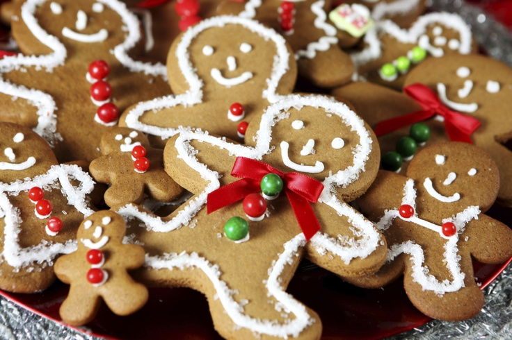 Delicious Christmas Honey Gingerbread Men! Made with Honey & Ginger :)