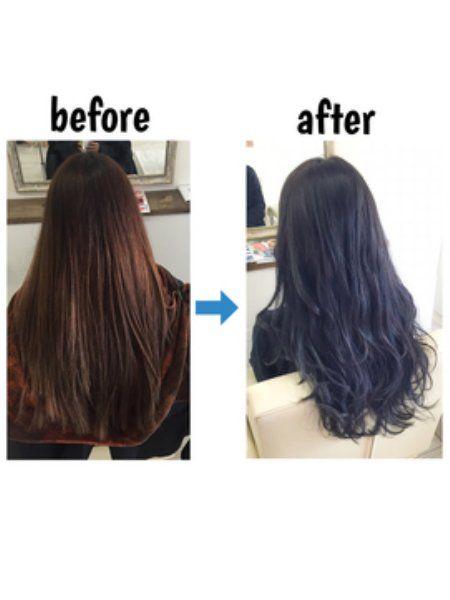 2014年から黒髪が流行りましたが、今は黒髪ではなく暗髪のヘアカラーがトレンド。甘めピンクや落ち着いたアッシュもいいですが、人と違う感じにしたい人にはネイビーがオススメ!美肌効果やおしゃれ感もあって、注目度はNo.1!ネイビーヘアカラーの特徴とヘアスタイル画像集