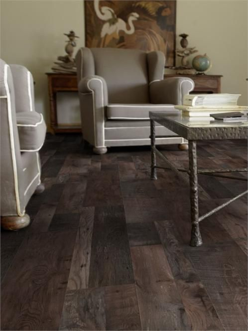 7mm Dark Fumes Oak Laminate Flooring