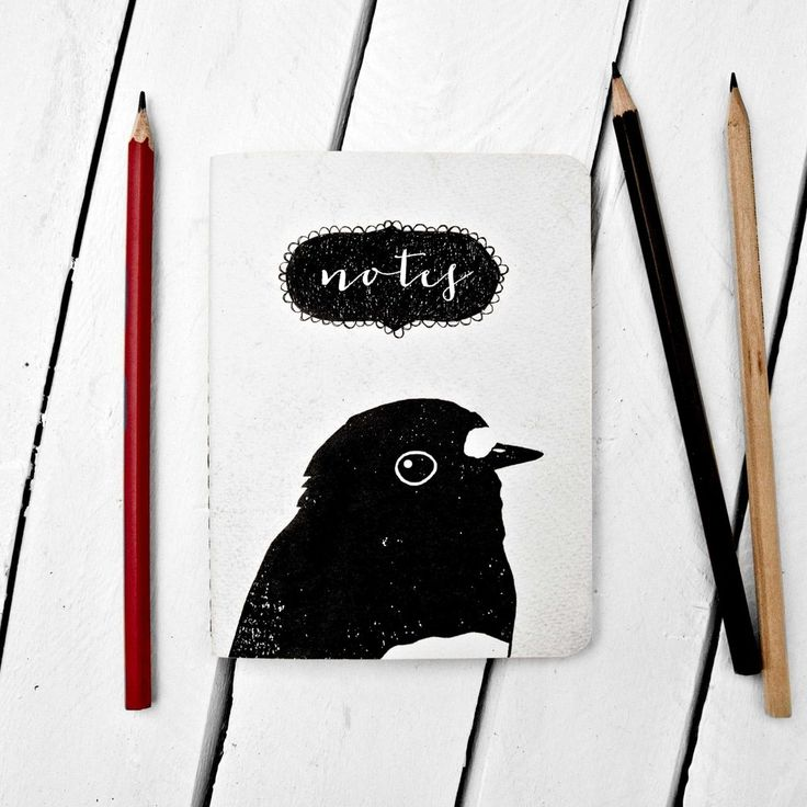 Image of Robin Portrait Notebook