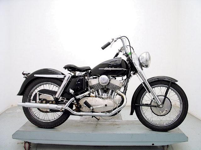 Antique Harley Davidsons 1952 1956