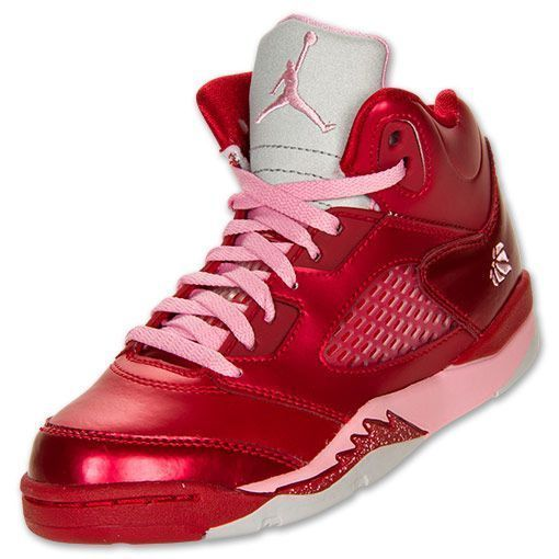 official photos 5851c 1bfa2 girl jordan shoes | Girls' Preschool Air Jordan Retro V ...