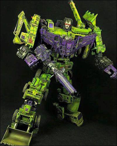 [Transformers] Devastator Repainted (Painted by LEK Custom)
