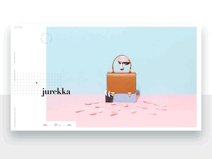 Jurekka Ecommerce - Animation by Adrián Somoza #Design Popular #Dribbble #shots