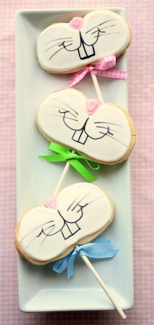 Cute bunny cookies!