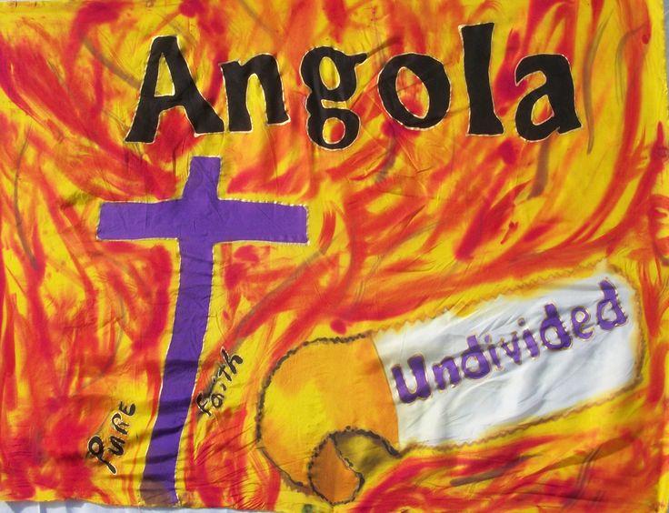 ANGOLA Prophetic Flag