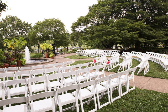 Bn Wedding Décor Outdoor Wedding Ceremonies: Outdoor Garden Ceremony