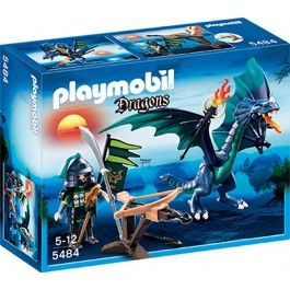 Dragon avec guerrier Playmobil 5484