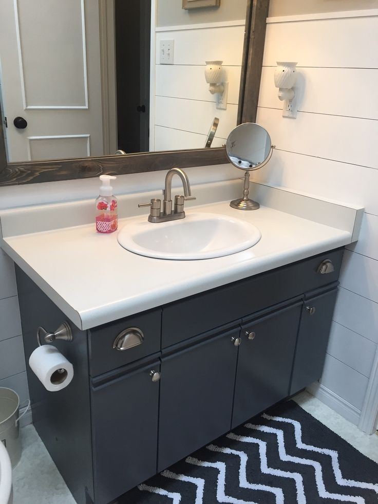 46 best bathroom images on pinterest bathroom bathrooms for Bathroom cabinets update ideas