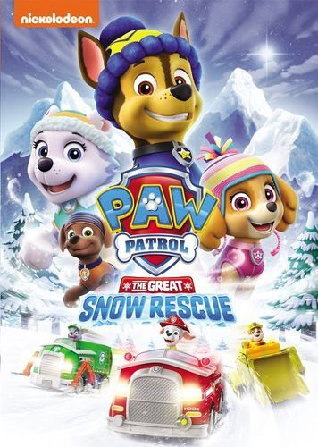 PAW Patrol: The Great Snow Rescue [DVD]