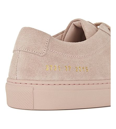 COMMON PROJECTS Original Achilles suede low-top trainers