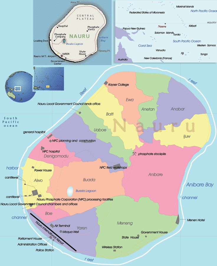 Nauru islands were occupied by the Micronesian and Polynesian people from 3,000 years. Description from visitworldplaces.com. I searched for this on bing.com/images