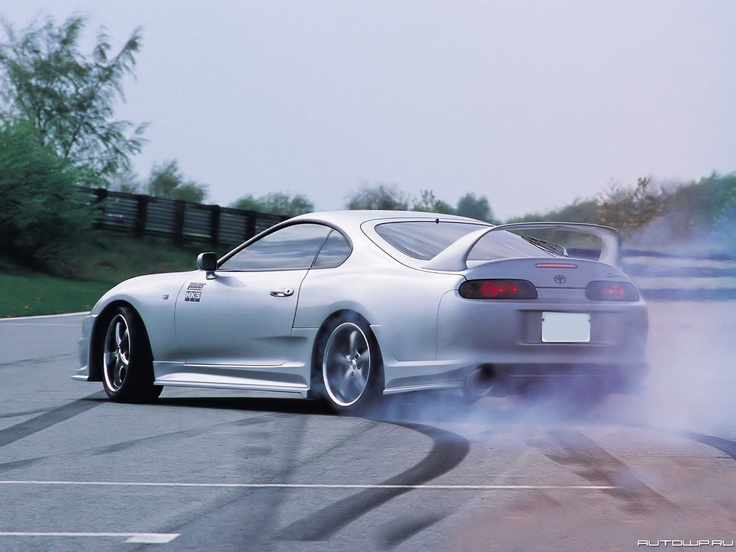 Toyota Supra    I've always wanted this car... One day..
