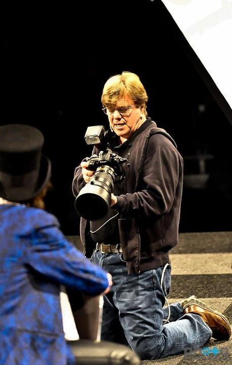 Joe McNally with Aad from Nikon Service (I Am Not Keith)