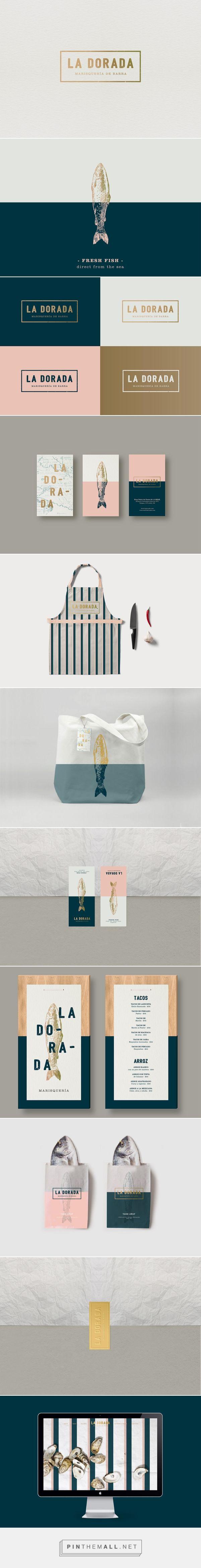 La Dorada Restaurant Branding and Menu Design by Vanya Silva | Fivestar Branding Agency – Design and Branding Agency & Inspiration Gallery