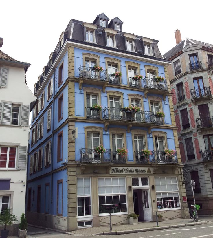 Hotel Trois Roses, Strasbourg, a great hotel in a fab location