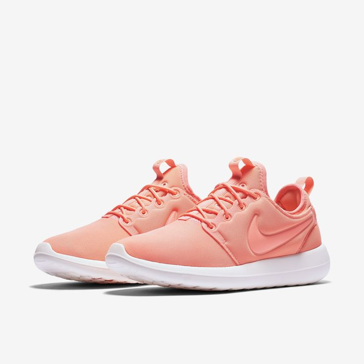 Nike Roshe Course Voile Feuille De Force Rose