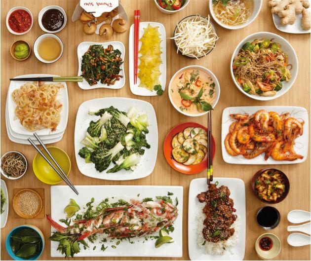 Chop Chop Chang Asian Cuisine Selection