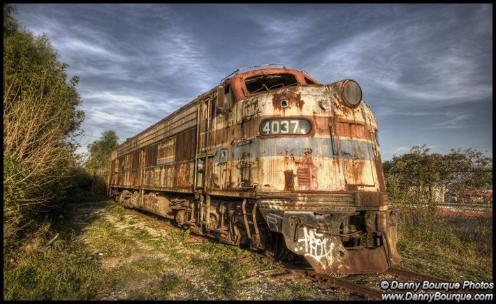 0795 Abandoned Train (HDR) | Flickr - Photo Sharing!